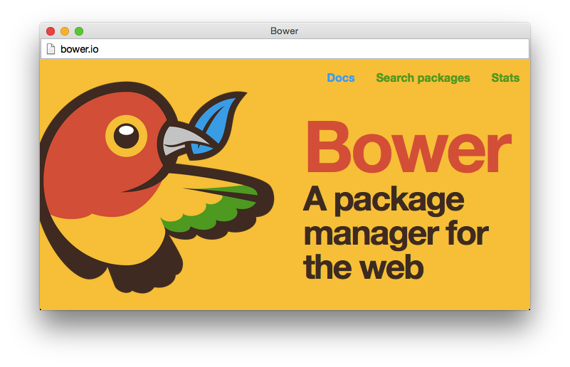 Start a New Project with Bower